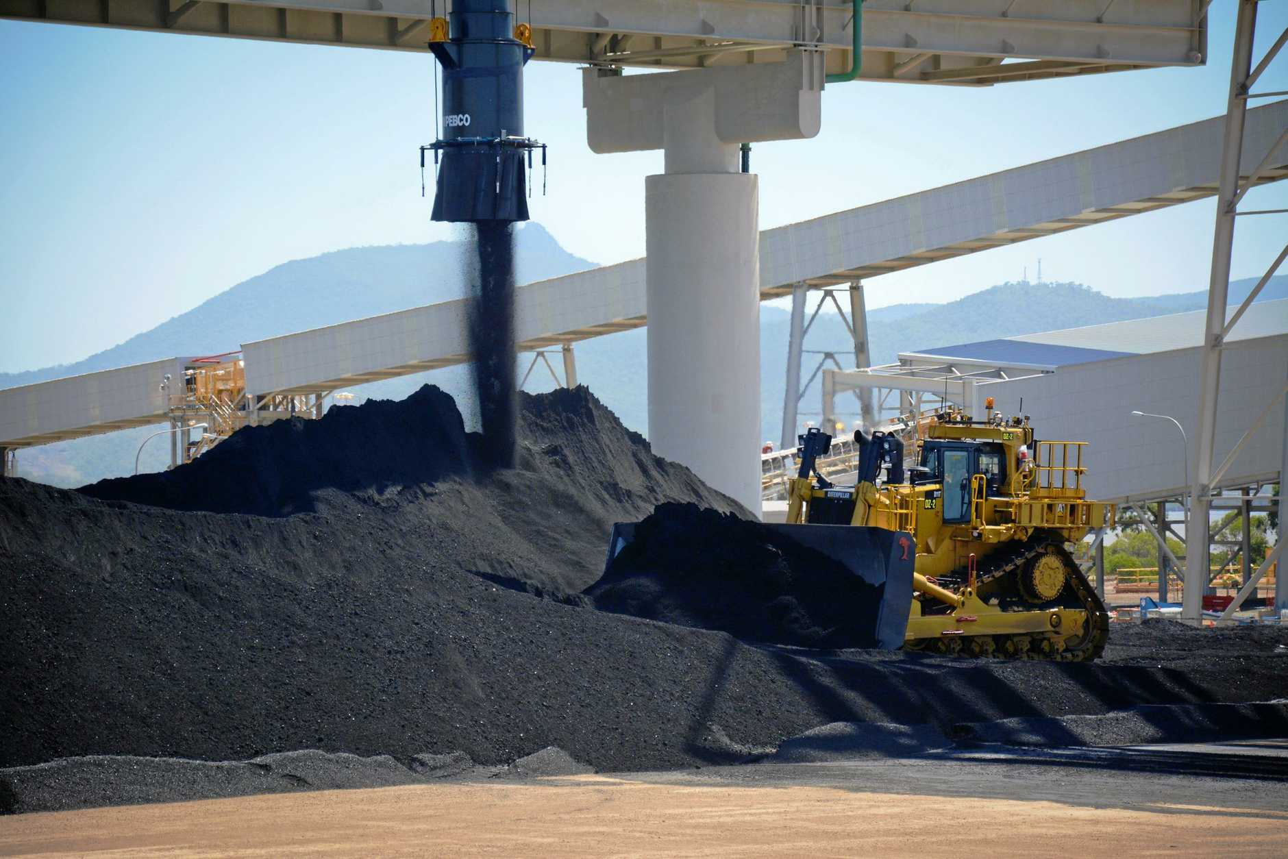 Coal exports totalled $34.9 billion in October