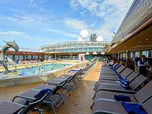 SNEAKY PEEK: Inside the cruise ship that docked in Gladstone