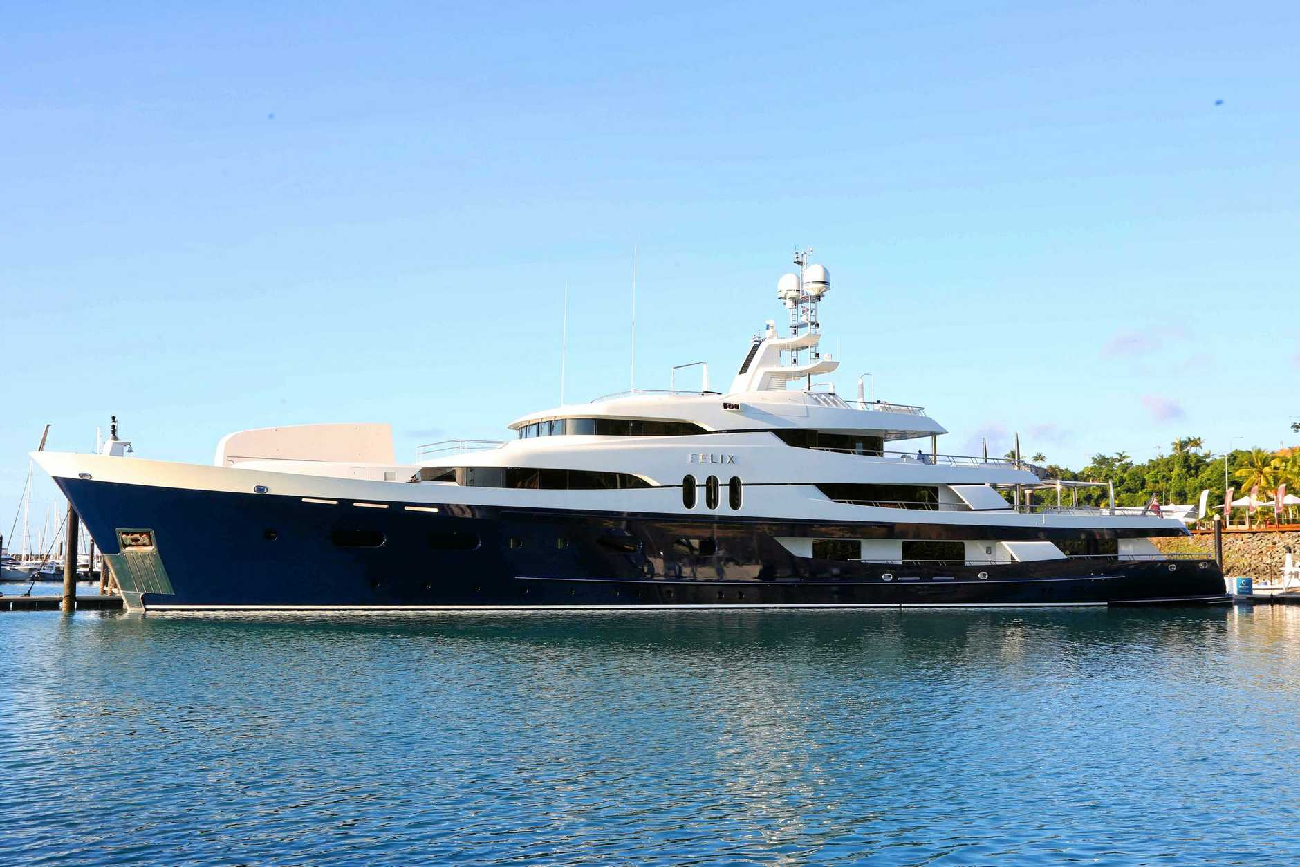 BUILDING OUR HARBOURS: Fraser Coast Tourism and Events general manager Martin Simons said Hervey Bay harbours need massive upgrades to be able to host superyachts in the future.
