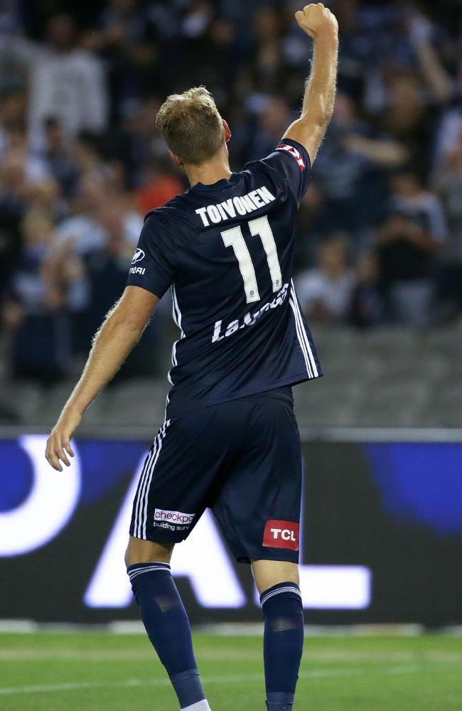 Ola Toivonen made a big impression against Adelaide.
