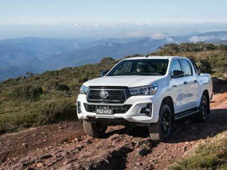 The HiLux Rogue has a high price tag.