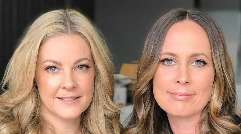 Peta and Jain founders Jane Da Silva (left) and Peta Wessell turned over a million in sales in their first year of business. Picture: Supplied