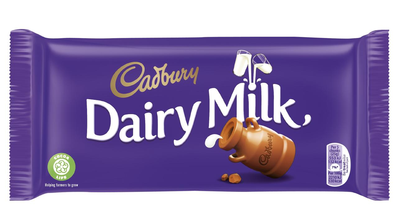 Australian Cadbury Dairy Milk bars now all carry the Cocoa Life symbol.