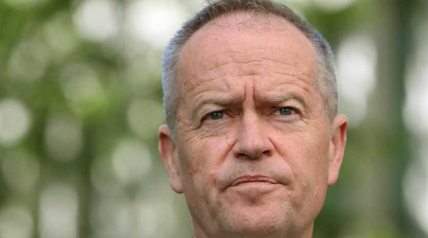Opposition Leader Bill Shorten is gaining ground on Scott Morrison. Picture Kym Smith