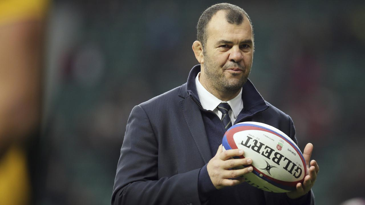 Michael Cheika will front the Rugby Australia board on Monday.