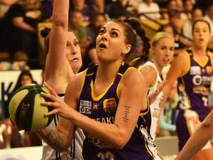Flames burn bright against WNBL title contenders