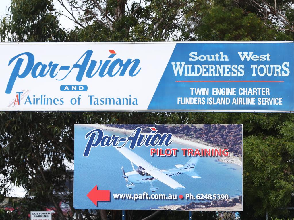 Airlines of Tasmania holds grave concerns for the pilot of the aircraft.