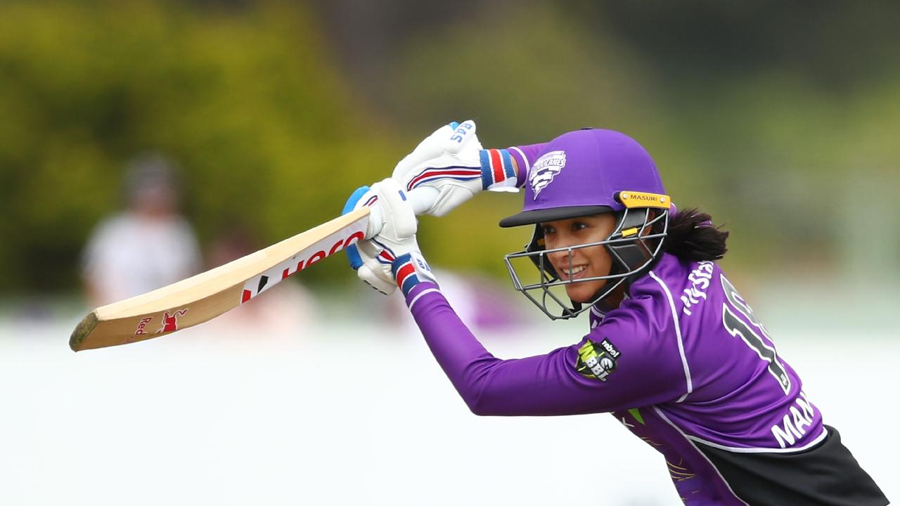 Smriti Mandhana starred for the Hurricanes against the Stars. Picture: Getty