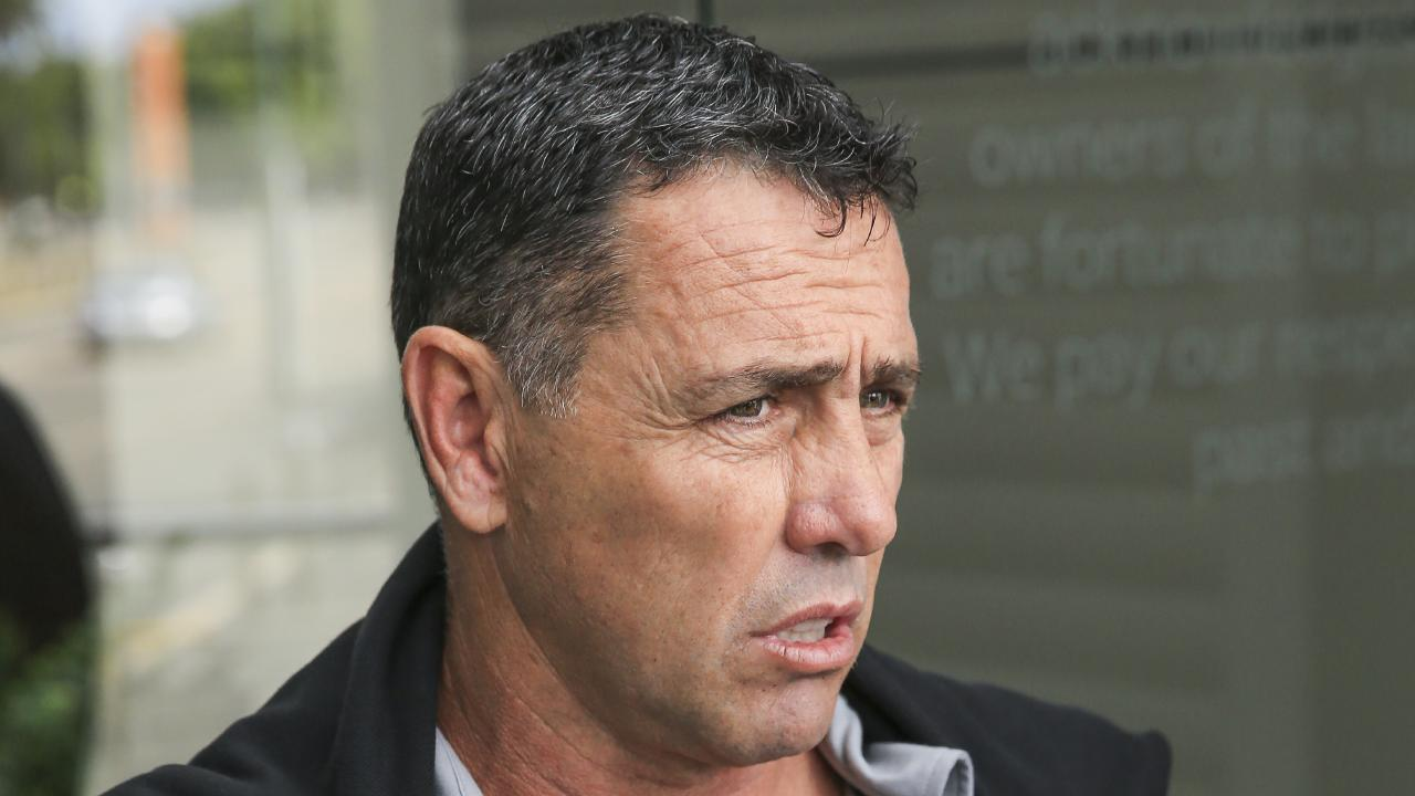 Sharks coach Shane Flanagan. NRL coaches come together to discuss potential rule changes at NRL HQ at Moore Park. Picture: Dylan Robinson