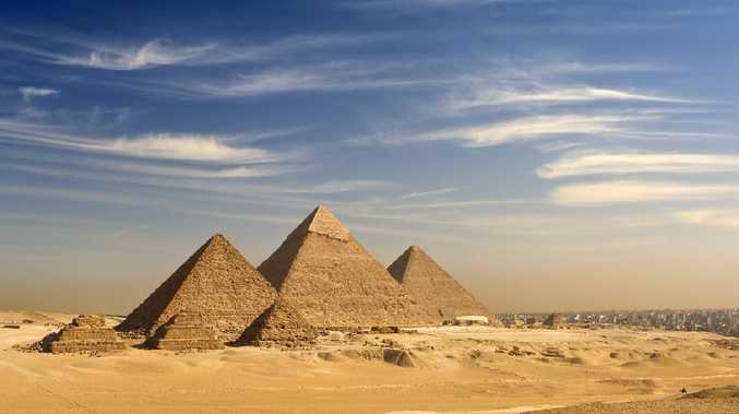 Egypt investigates explicit video allegedly filmed atop the Great Pyramid of Giza. Picture: iStock