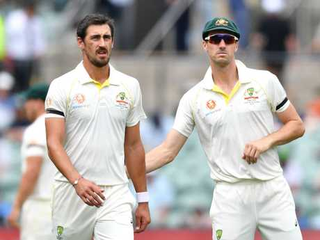 Mitchell Starc had a rough morning.