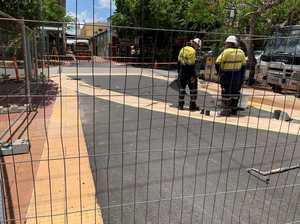 CBD road closed as work starts on rainbow crossing