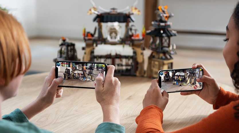 CREATIVE: Augmented reality and other cool features can make smart devices great learning tools.