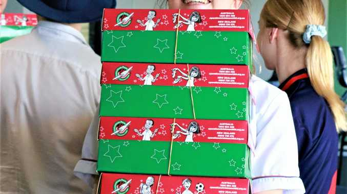 Boxes bring kids Christmas cheer