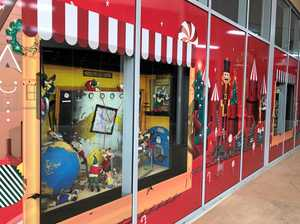 Puppets come to life at Riverlink Christmas display windows