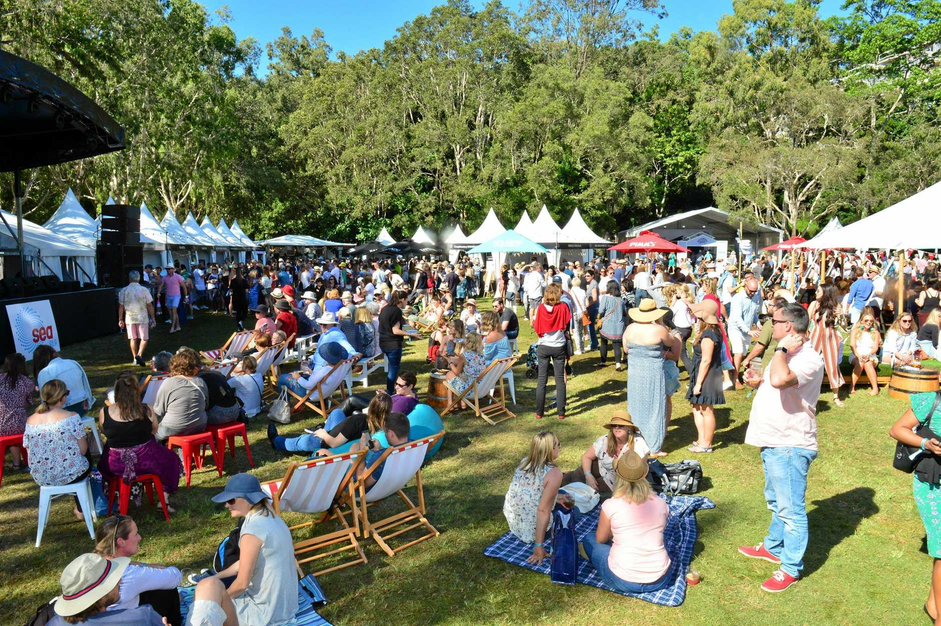Noosa Food and Wine Festival has been named one of Australia's best annual festivals.