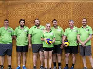 B and C-grade volleyball grand final winners