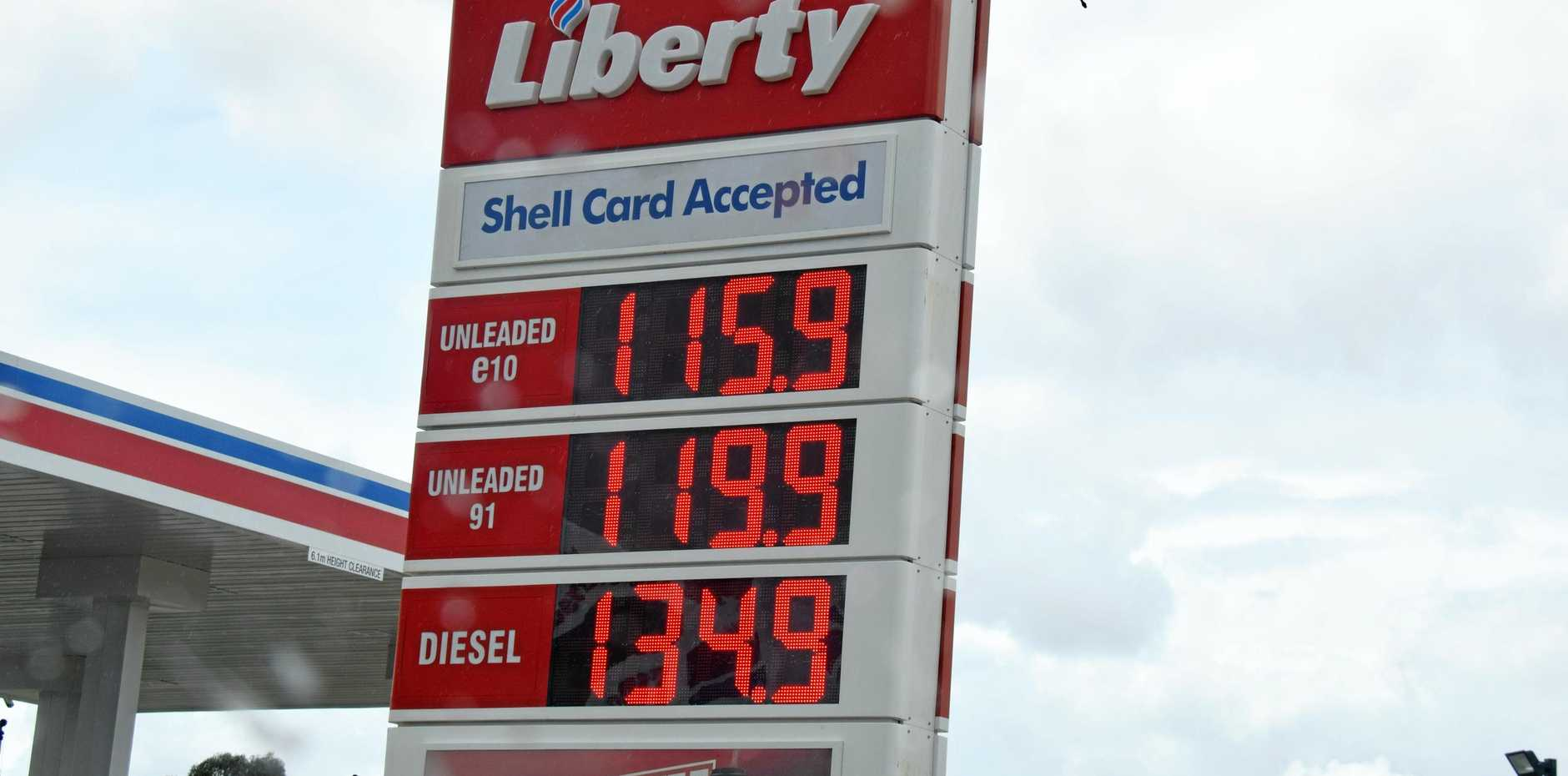 Commuters have flocked to fill up at less than $1.20/L
