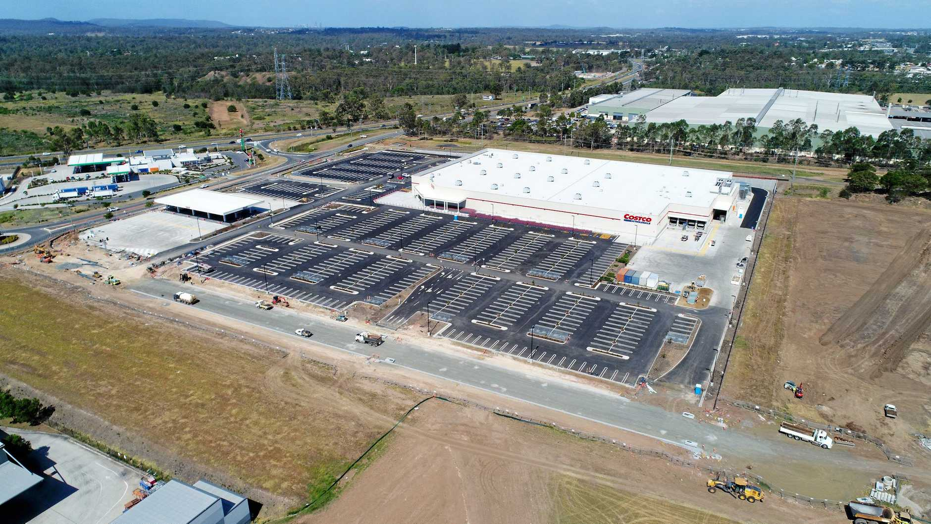 Costco at Bundamba progress photographed on December 10, 2018.