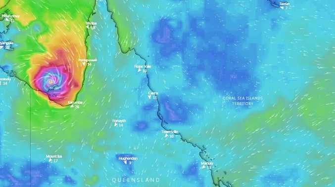 With or without a cyclone, there's wet times ahead for CQ