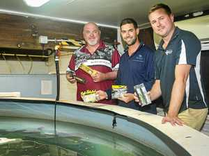 An early Christmas for anglers at Lake Awoonga