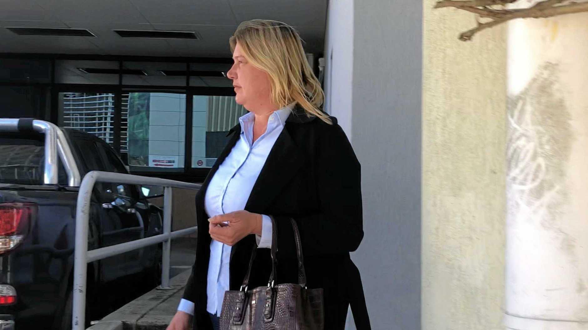 Monique Louise Schwartz pleaded not guilty to unlawfully assaulting a man near a Noosa nightclub last year.