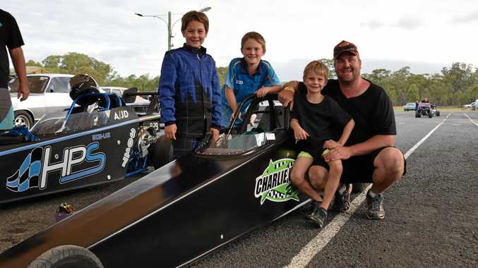 Weber finishes top at dragfest after two rounds