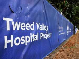 Police investigate vandalism at Tweed Valley Hospital site