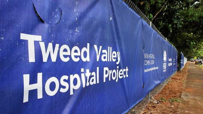 Police investigate vandalism at Tweed Valley Hospital site