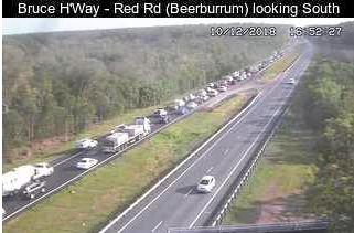 Emergency services are on scene of a second crash on the Bruce Highway this afternoon at Coochin Creek.