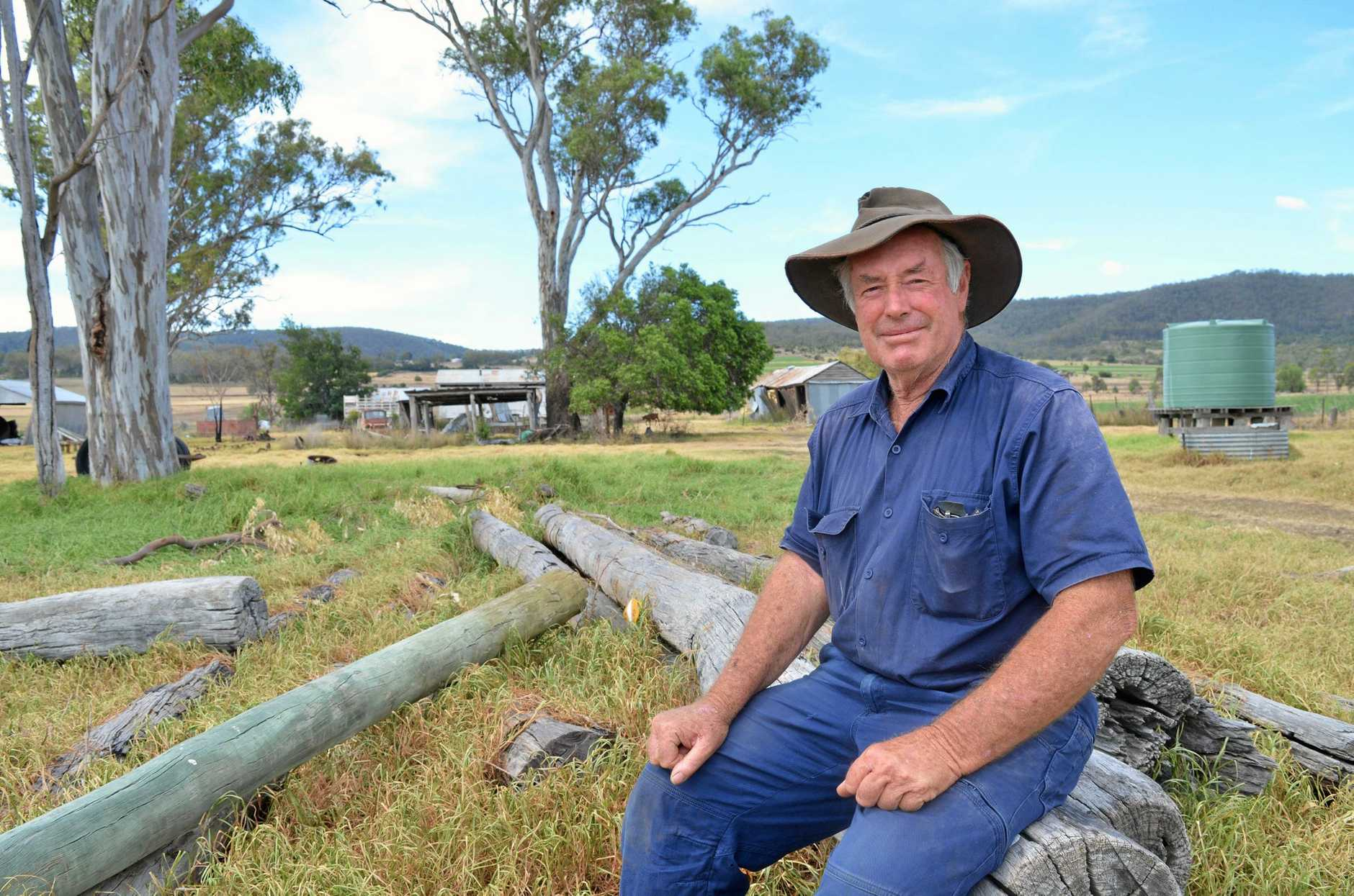 HOT TOPIC: Rural Fire Brigade Group deputy group officer Alan Payne said there must be changes to how authorities manage vegetation on crown land.
