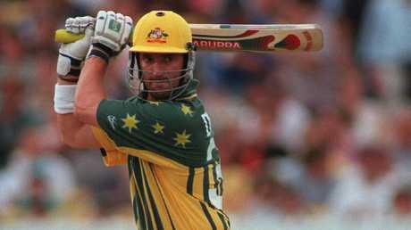 Michael Di Venuto in the greatest Australian ODI jersey of all-time.