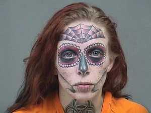 RUSH HOUR: Creepy mugshot goes viral