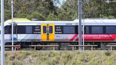 A New Generation Rollingstock train at Ipswich.