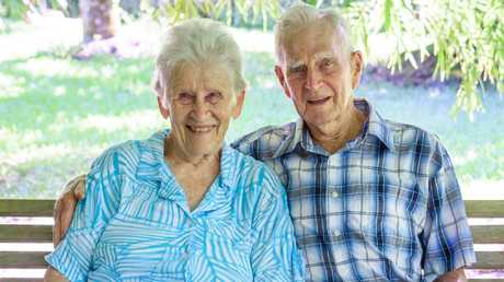 May and Walter Jago of Babinda celebrate their 70th wedding anniversary on November 13, 2018. They were married on November 13, 1948.