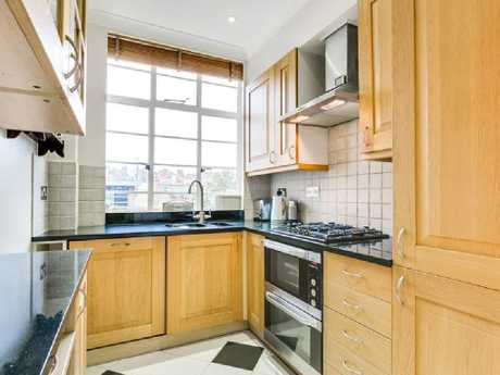 A snug but stylish kitchen. Picture: Knight Frank/knightfrank.com