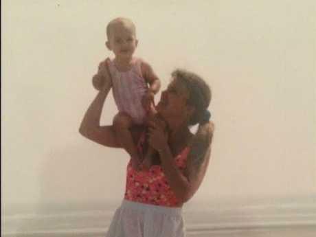 Lee Barnett said with daughter Samantha (born Savanna Lee Barnett) just before they fled USA in 1994.