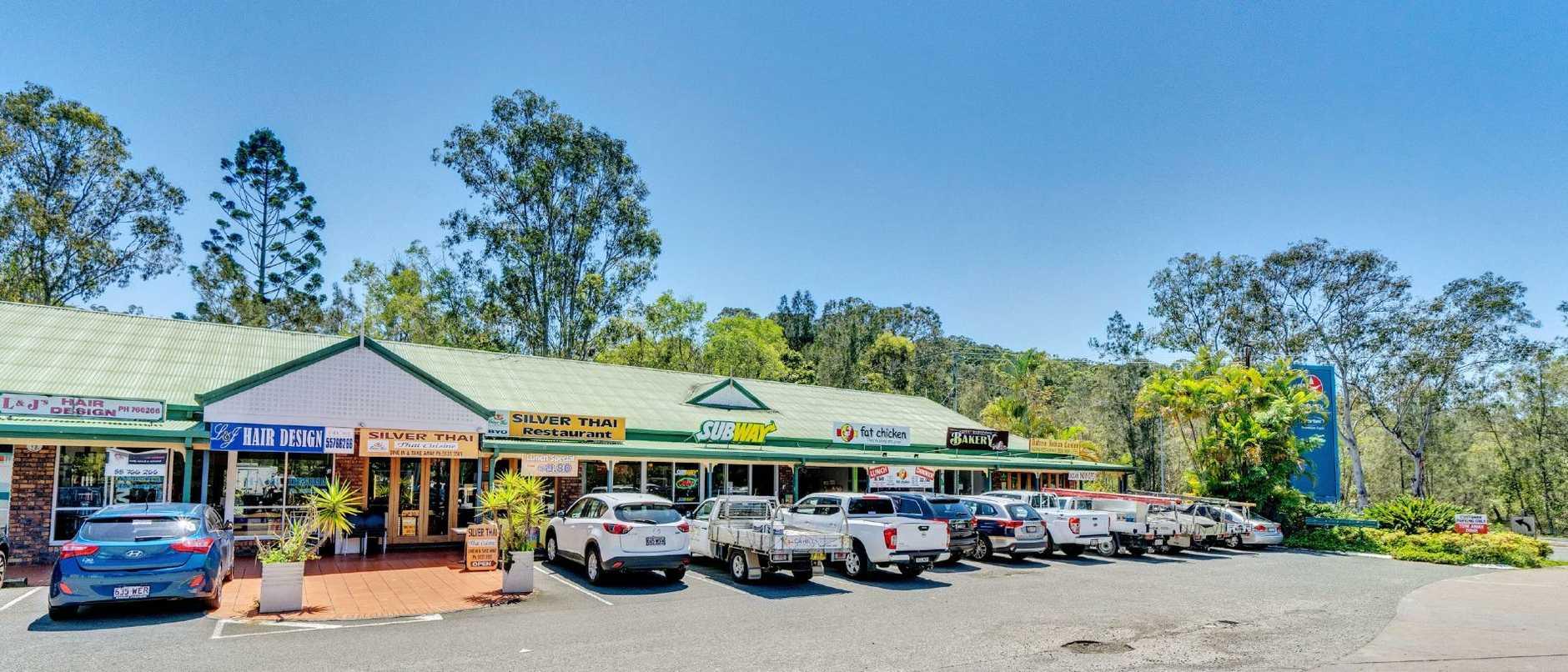 A shopping centre at 5-7 Tallebudgera Creek Rd, Burleigh Heads, has sold.