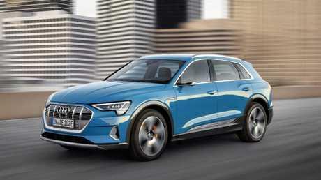 Audi e-Tron electric SUV.