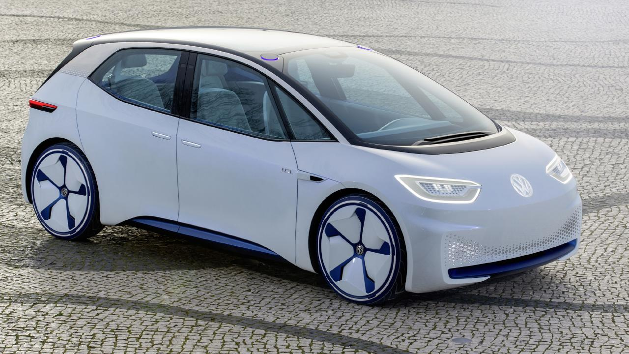 Volkswagen's ID electric hatch will be one of the first mass-market EVs.
