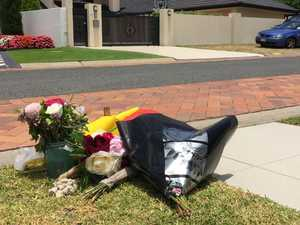 Flower tributes for child killed by taxi