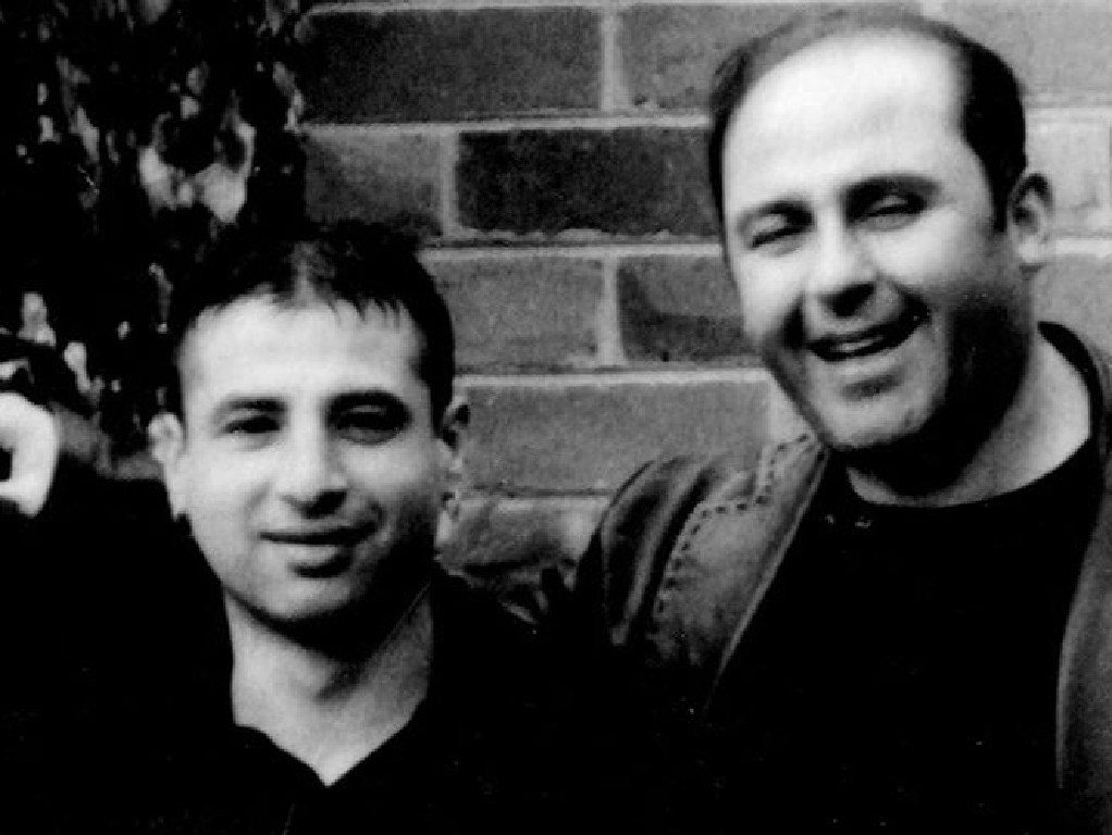 Tony Mokbel with Melbourne hit man Andrew Veniamin