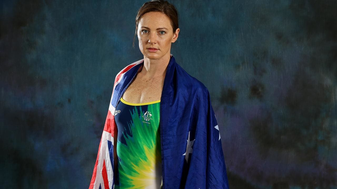 Cate Campbell isn't afraid to make her voice heard. (Adam Head)