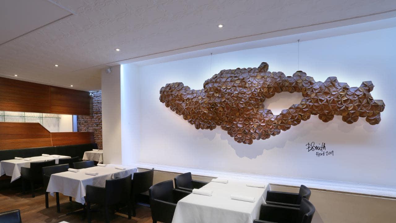 Urbane restaurant, Brisbane. Pic by Richard Waugh.