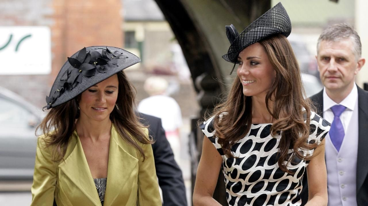 Pippa Middleton and Catherine Duchess of Cambridge in 2011. Picture: Getty Images