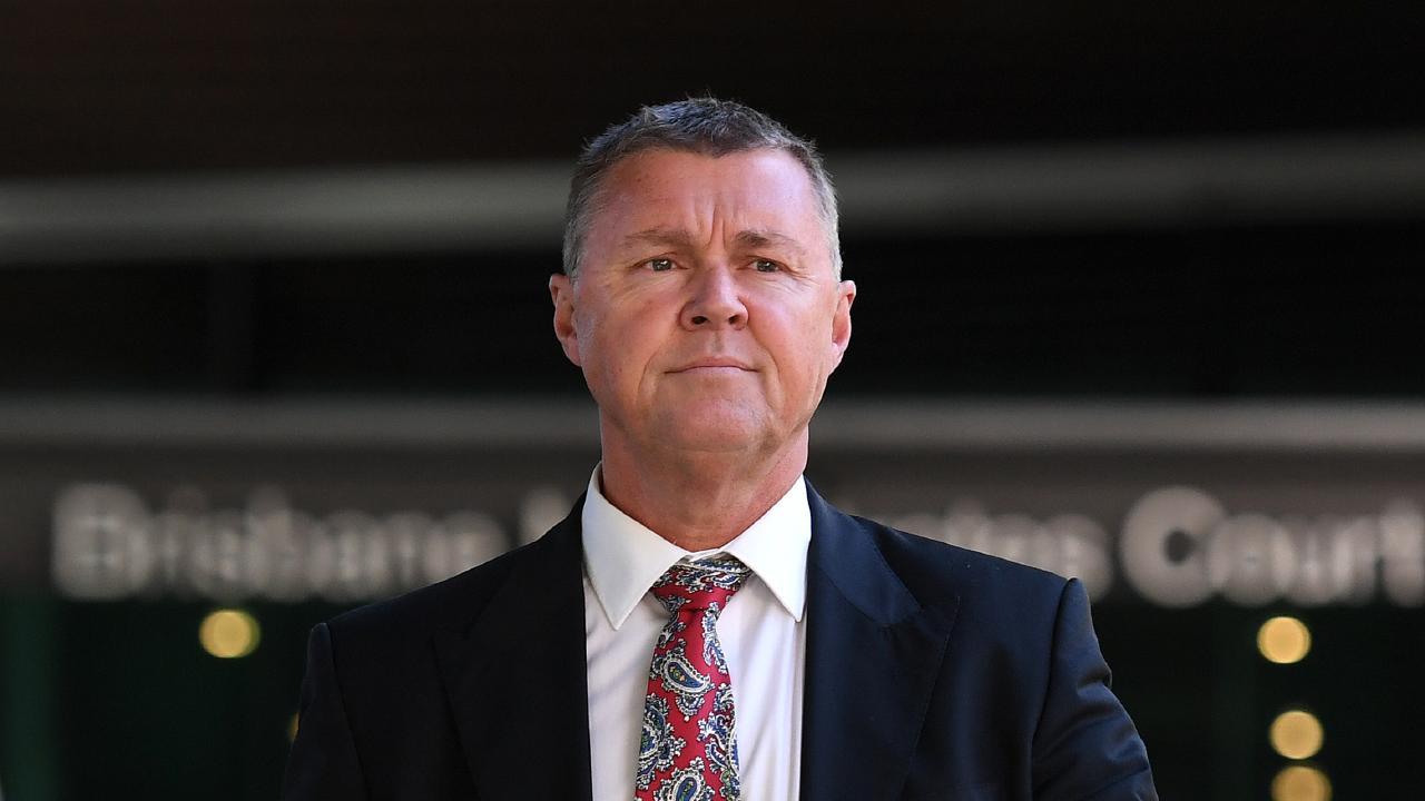 Former CFMEU boss Dave Hanna has pleaded not guilty. Picture: AAP/Dan Peled
