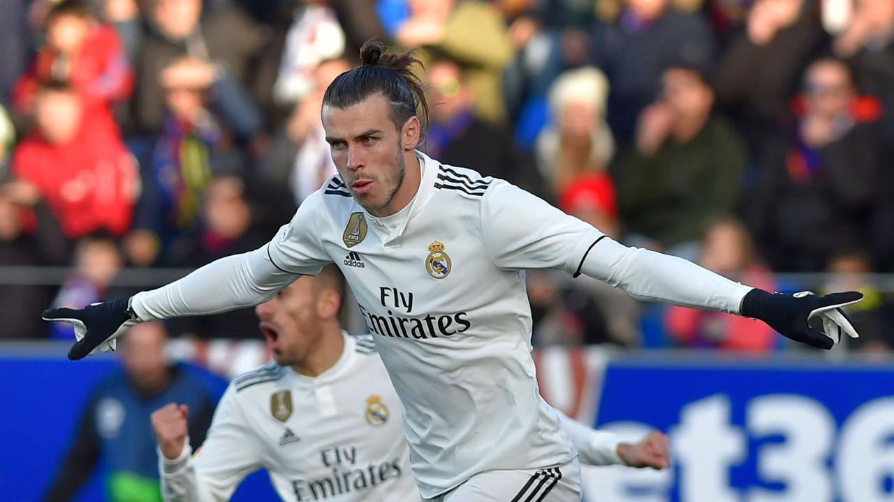 Real Madrid's Welsh wizard Gareth Bale finally ended his goal drought.