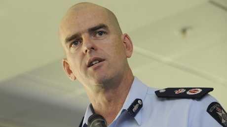 Former chief commissioner Simon Overland.