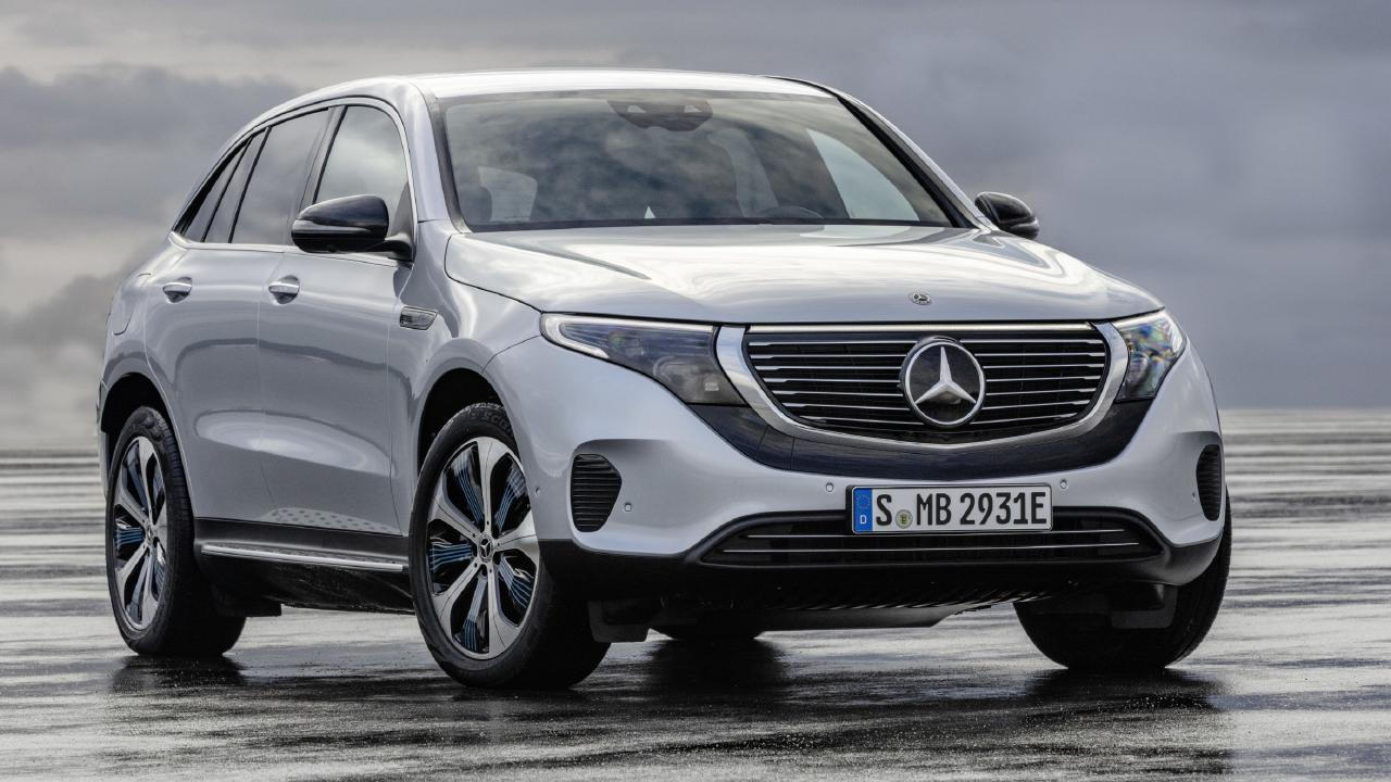 Mercedes-Benz EQC is due in Australia i about 12 months.