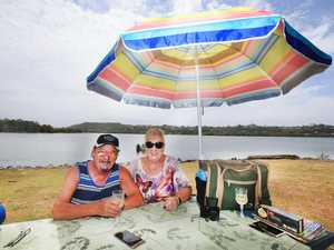 Enjoying a picnic at Chinderah on the Tweed River is